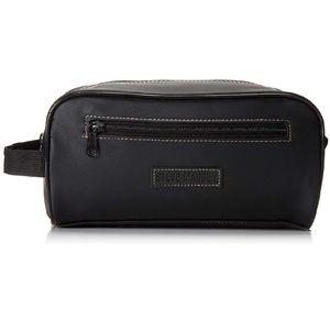 Steve Madden Black Travel Toiletry Shave Kit Bag